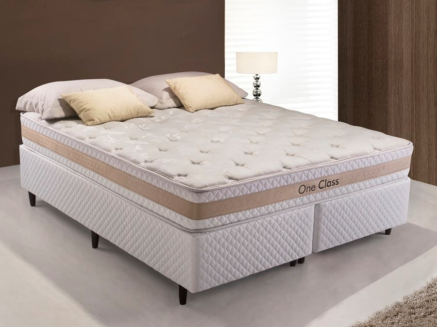 Cama Box King Herval One Class